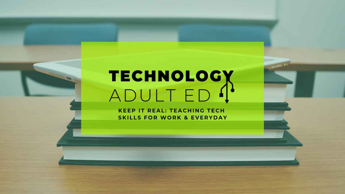 Technology & Adult Ed Conference 2019 — Sessions — Philly